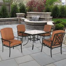 Hampton Bay Patio Dining Set - rectangle patio dining sets patio dining furniture the home