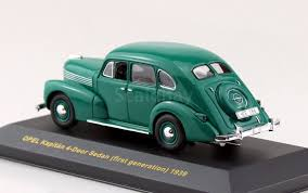 opel kapitan 1939 opel kapitaen 4 door sedan first generation 1939 ixo museum