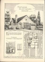 English Cottage Design by 1916 Garden City Plans Design 11 English Cottage Design With