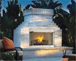 Fireplace Plans Exterior Design Engaging Brick Fireplace Backyard Design With Gas