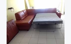 canapé lit cuir canape lit cuir angle merridienne meubles et décoration martin