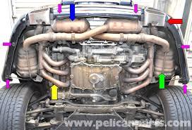 porsche 911 engine parts porsche 911 high performance exhaust installation 996