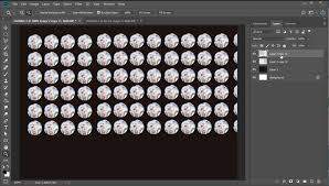 cara membuat logo bercahaya di photoshop how to create a wall of lights photo effect photoshop in 60 seconds
