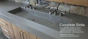 making concrete sink making concrete sinkers