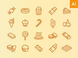 kitchen icon food and kitchen icon sets succo design
