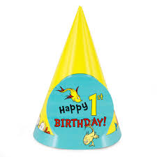 dr seuss 1st birthday dr seuss 1st birthday cone hats birthdayexpress