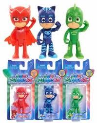 pj masks single hero figure catboy owlette gekko figurine licensed