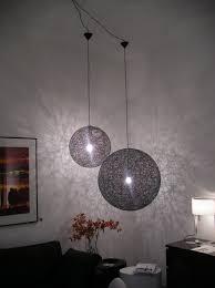 moooi random light 50 led pendant lighting black