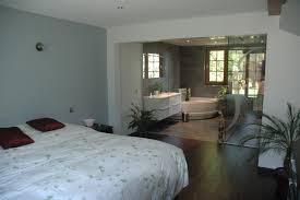 amenagement chambre parentale avec salle bain idée suite parentale avec salle de bain et dressing galerie avec