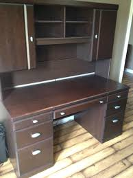 Solid Oak Desk With Hutch by Best Defehr 2pc Solid Wood Desk For Sale 800 For Sale In Owen