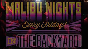 malibu nights dance party in the backyard at boca fiesta and
