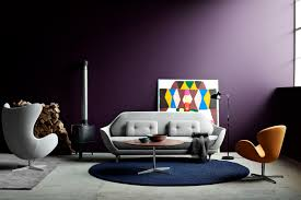 furniture elegant scandinavian living room design with brown