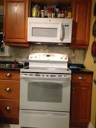 Microwave In Kitchen Cabinet by Hack Your Kitchen For An Over The Range Microwave Kitchen Update