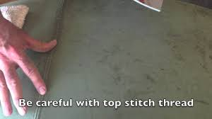 Suede Upholstery Cleaning How To Clean Nubuck Or Suede Leather Furniture Youtube