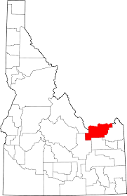 Map Of Idaho And Utah by Clark County Idaho Wikipedia