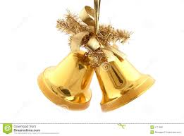 Decoration Of Christmas Bell by Gold Christmas Bells Royalty Free Stock Images Image 5771899