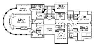 chateau floor plans chateau melliant 6019 4 bedrooms and 5 baths the house designers