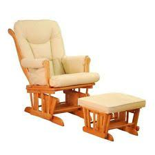 Glider Rocker With Ottoman Glider And Ottoman Ebay