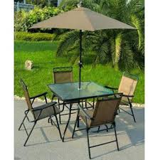 Folding Patio Table And Chair Set Patio Table 6 Chairs Stgrupp