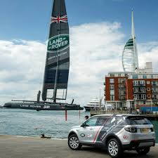 land rover racing land rover is now a partner of ben ainslie racing in sailing