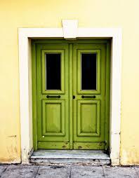 door art green door in athens greece photograph lime kiwi