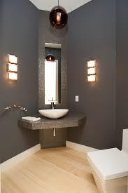 powder room contemporary with semi precious stone powder room