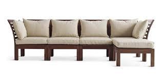 wood frame sofa with cushions sofamoe info