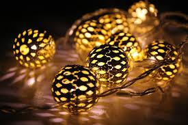 accessories orange lights hanging lights
