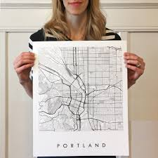 Oregon City Oregon Map by Portland Map Street Map Oregon City Map Drawing Black And