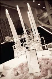 my vintage hollywood glam floral and candelabra centerpieces