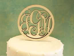 gold monogram cake toppers vine monogram wood vine monogram wreath monogram