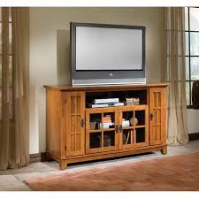 Entertainment Center Credenza Home Styles Arts And Crafts Tv Credenza Cottage Oak Walmart Com