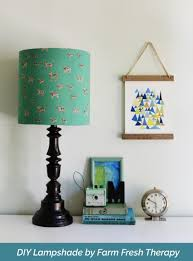 Lamp Shades Diy How To Make A Lampshade Using Any Material You Want I Like That Lamp