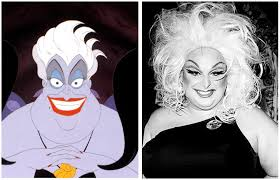 why disney villains are actually drag queens