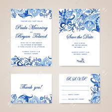 Invitation Card With Rsvp 2 953 Rsvp Card Stock Vector Illustration And Royalty Free Rsvp