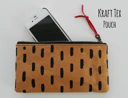 s o t a k handmade kraft tex pouch