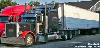 peterbilt and kenworth truck trailer transport express freight logistic diesel mack