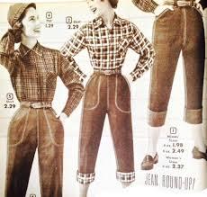 1950s Clothes For Kids Women U0027s 1950s Pants Cigarette Capri Jeans Fashion History