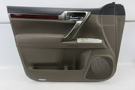 lexus parts portland oregon 12 lexus gx460 door panel interior trim brown sepia left front ebay