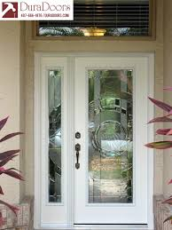 Patio Door Sidelights Plastpro Entry Door And Sidelight With Entropy Glass By Odl