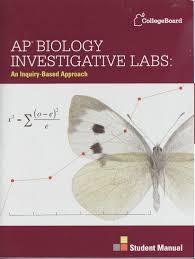ap biology investigative labs student manual batner bookstore