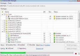 sdk manager apk run android applications on pc via android sdk manager