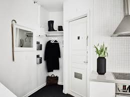 monochrome small space apartment lushlee