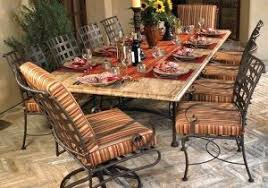 wrought iron outdoor dining table wicker and aluminum outdoor dining table and chair set unique of