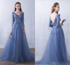 three quarter sleeve formal dresses mermaid online three quarter