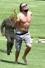 Leonardo Di Caprio Meme - never forget these memes of a shirtless nerf toting leonardo dicaprio