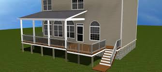 how to cover your deck patio or porch for any price by archadeck