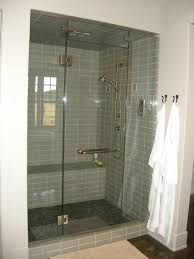 Doors For Small Bathrooms Bathroom Frosted Glass Shower Door With Walk In Shower Kits For