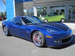 chevy corvette 2007 2007 chevy corvette z06 lemans blue on black 2lz package with