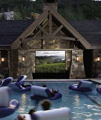 floating in a swimming pool movie theater 30 places you u0027d